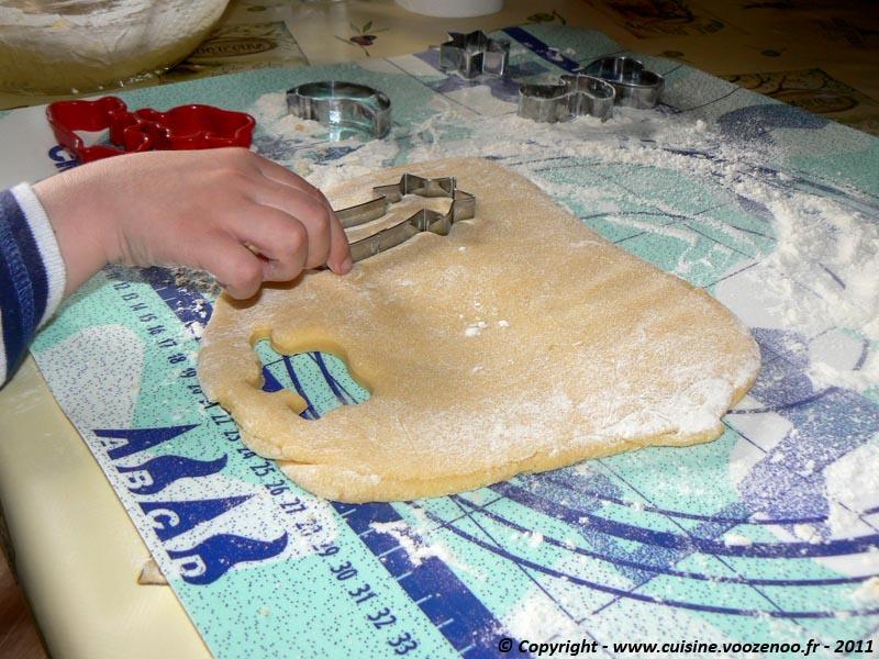 Biscuits sablés à la vanille découpe 1