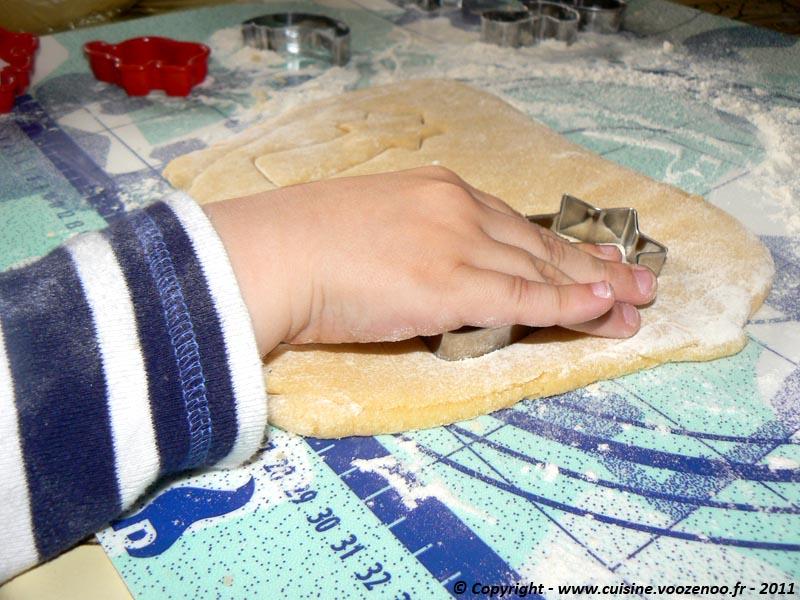Biscuits sablés à la vanille découpe 3