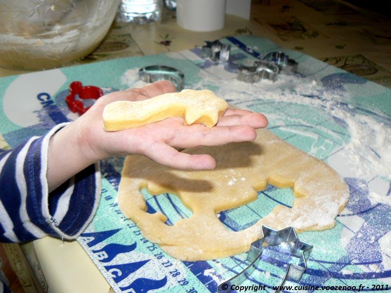 Biscuits sablés à la vanille découpe 4