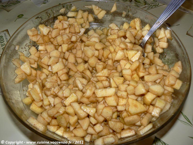 Tartelettes crumbles aux pommes et cannelle 1