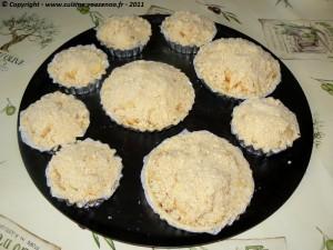 Tartelettes crumbles aux pommes et cannelle 3