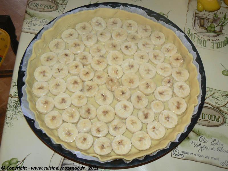 Tarte aux bananes parfum cardamome etape 1