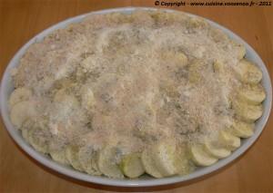 Gratin de courgettes,pommes de terre au bouillon photo3