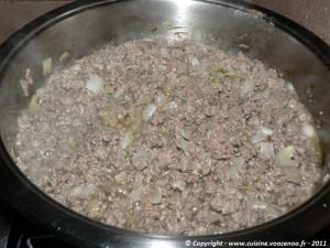 Lasagne de courgettes etape 1