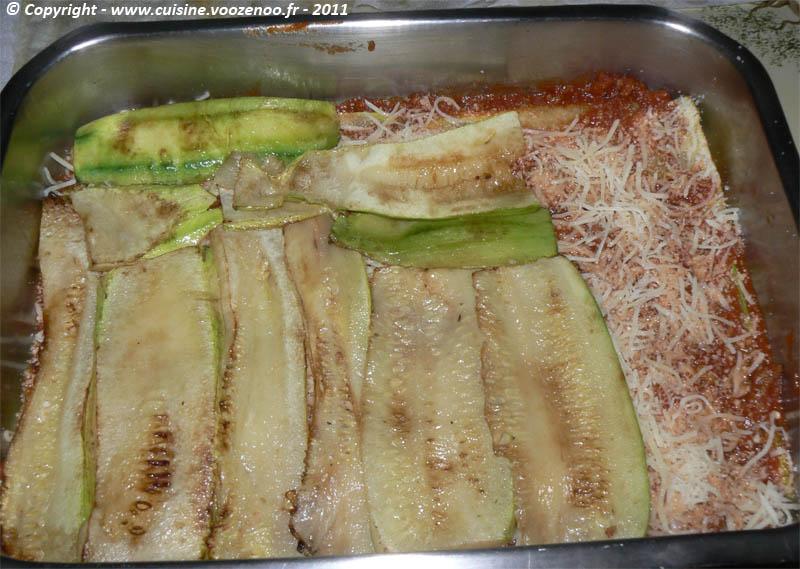 Lasagne de courgettes etape 8