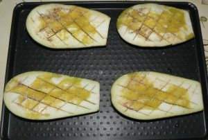 Cannellonis de poulet et aubergines etape1