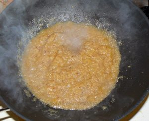 Curry de crevettes Birman etape3