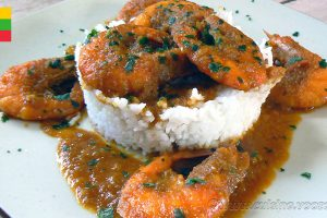 Curry de crevettes Birman slider