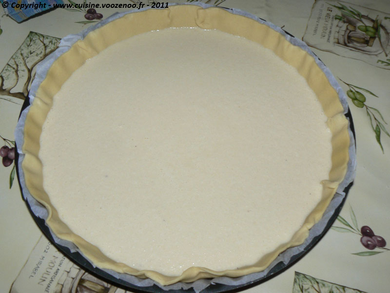 Tarte coco – banane etape1
