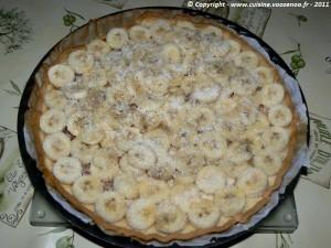 Tarte coco - banane etape3