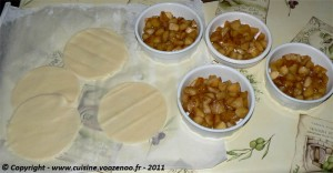 Sablés aux pommes caramélisées fondants etape3