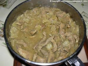 Pastilla aux aiguillettes de canard et aux blettes etape2