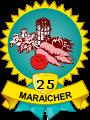 Maraicher – 25 légumes