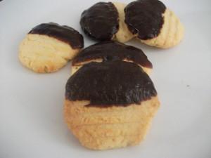 Petits sablés noix de coco chocolat-gridelle