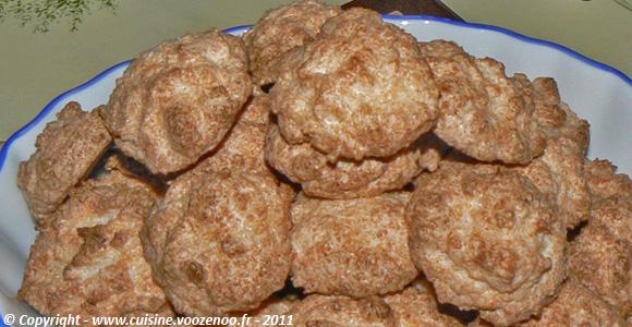 Mini-rochers à la noix de coco
