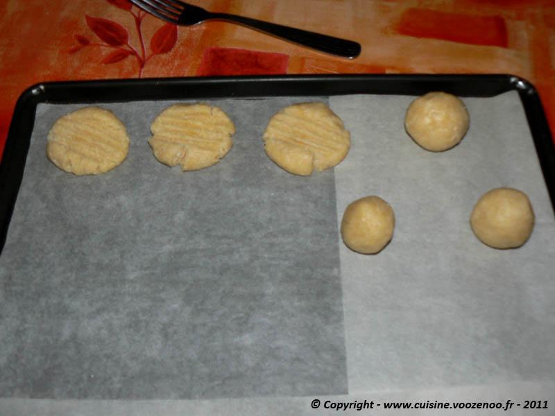 Petits sablés noix de coco chocolat etape4