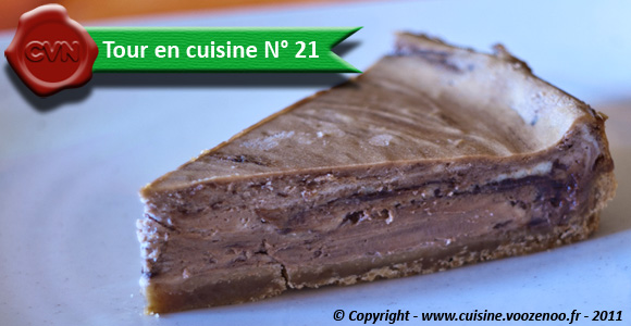 Cheesecake au Nutella - Tour en Cuisine N° 21