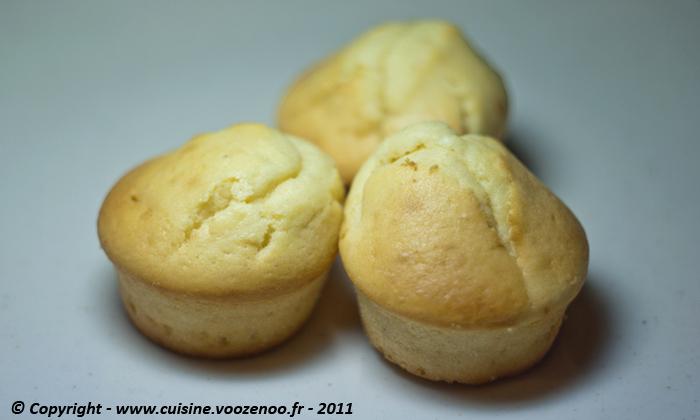 Muffins à la pâte de Spéculoos fin