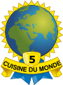 medaille cuisine du monde 5