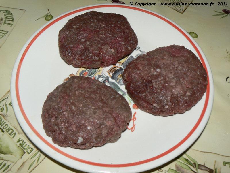Steaks hachés surprises etape2