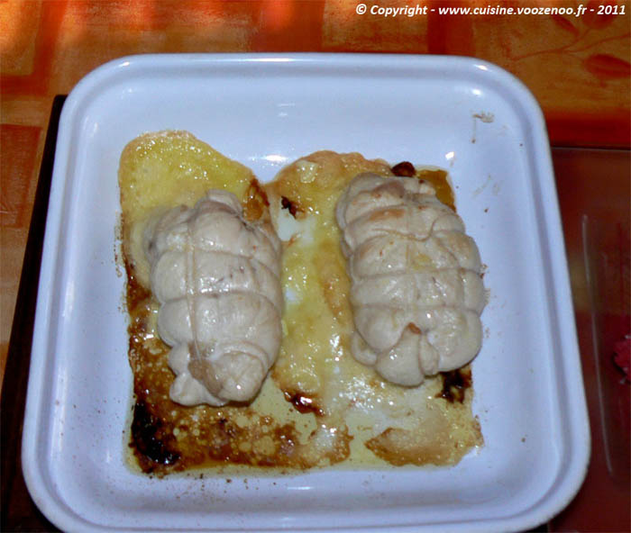 Cordon bleu de poulet au jambon de Bayonne et camembert fin