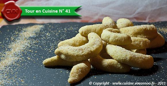 Croissants vanillés - Tour en Cuisine N° 41