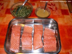 Saumon mi cuit croustillant etape2