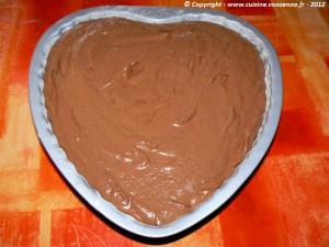 Coeur de chocolat etape5