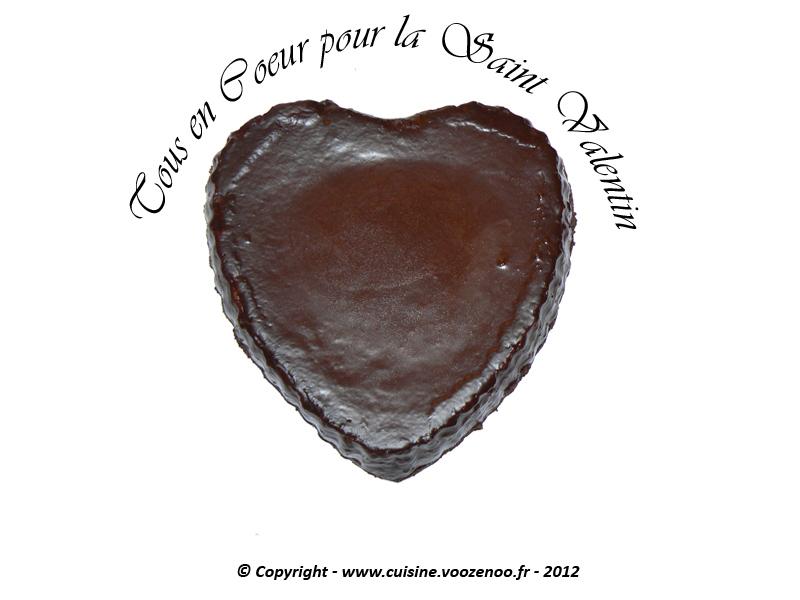 Coeur de chocolat presentation
