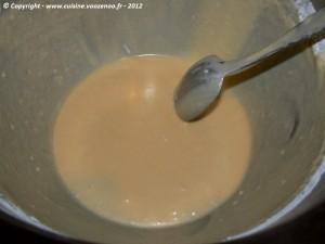 Muffins au coca-cola etape1
