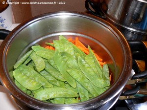 Saumon en papillote au saké etape2