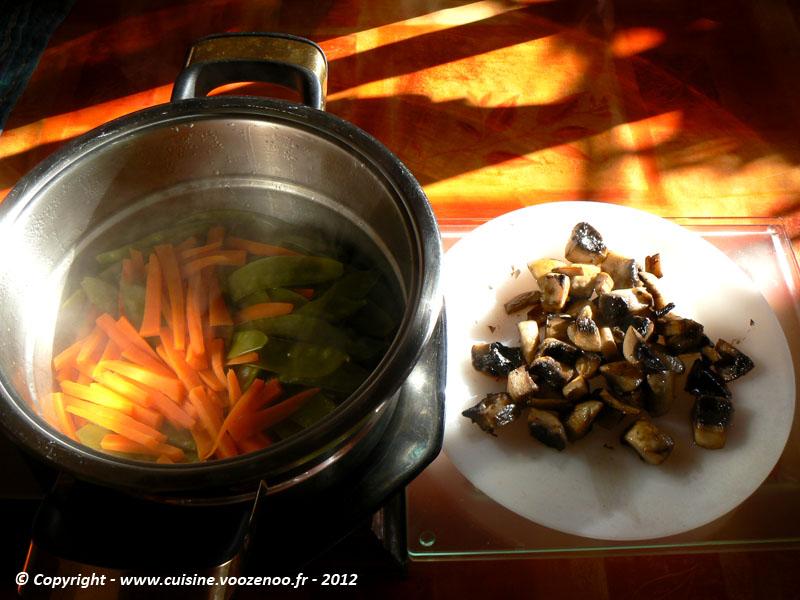 Saumon en papillote au saké etape4