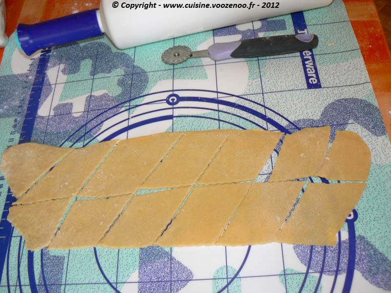 Oreillettes provençale etape6