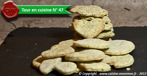 Biscuits au citron et pavot une
