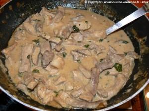 Porc au lait de coco fin