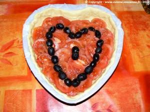 Coeur feuilleté de tomates etape4