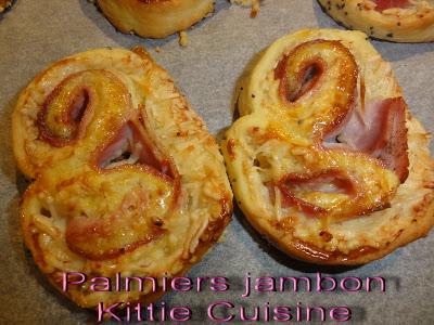 Palmiers jambon de Kittie