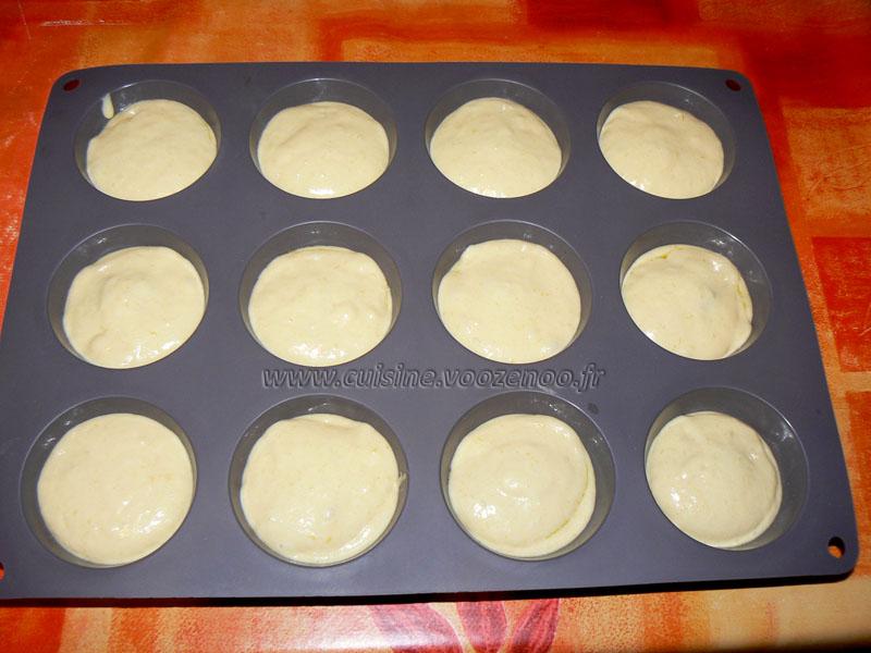 Muffins coeur d'artichaut et zestes de citron etape5