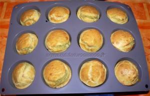 Muffins coeur d'artichaut et zestes de citron fin
