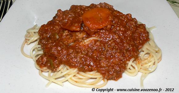 Sauce bolognaise une
