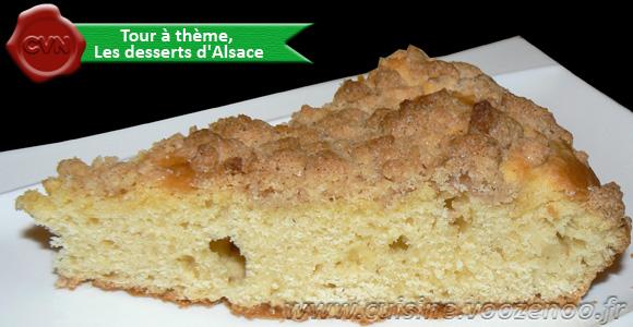 "Gâteau de Streusel ""Streuselkuchen"""