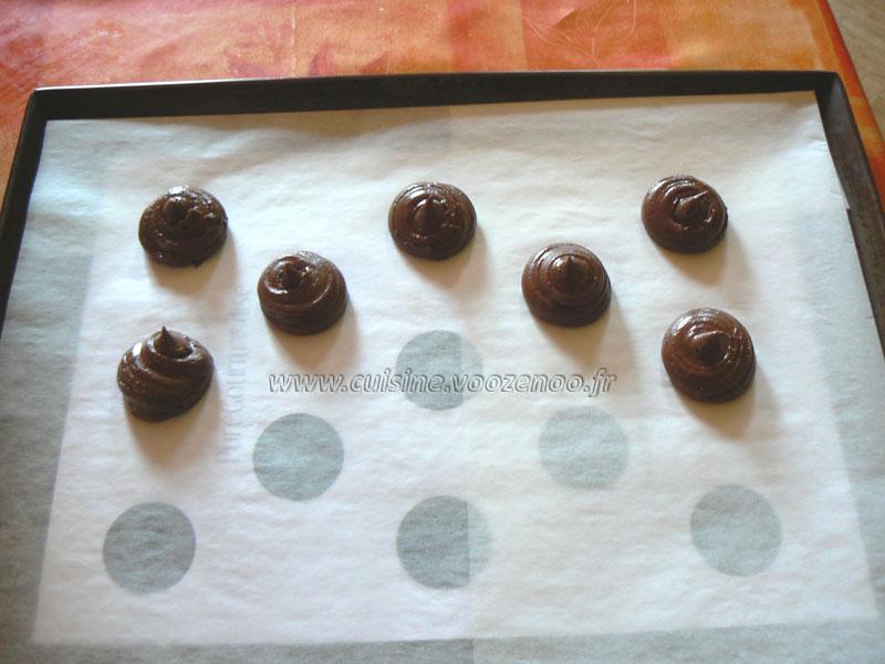 Whoopies nutella etape2