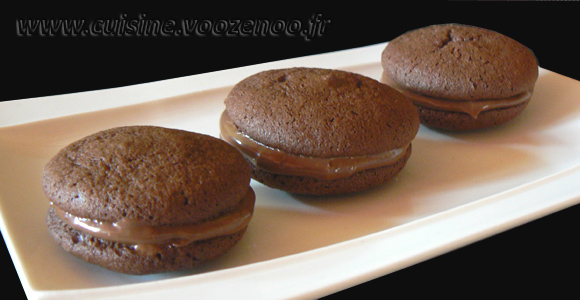 Whoopies Nutella