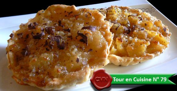 Tartelettes aux poires