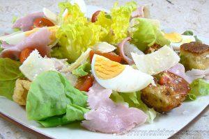 "Salade César ""allégée"""