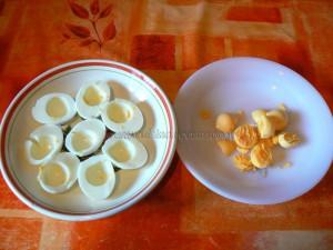 Oeufs mimosas revisités façon quiches au thon etape1