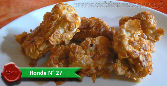 Nuggets de poulet Home Made