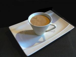 Mousse au café presentation