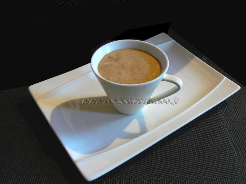 Mousse au café presentation*