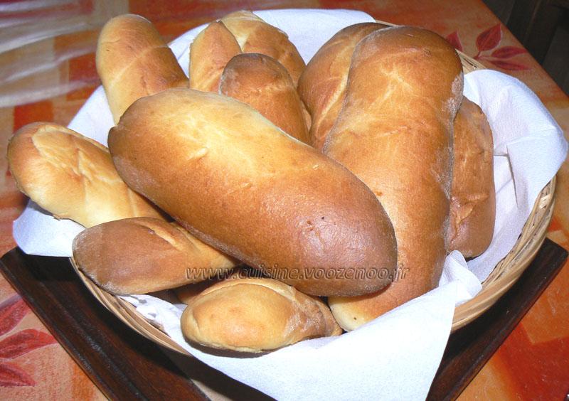 Petits pains au lait presentation
